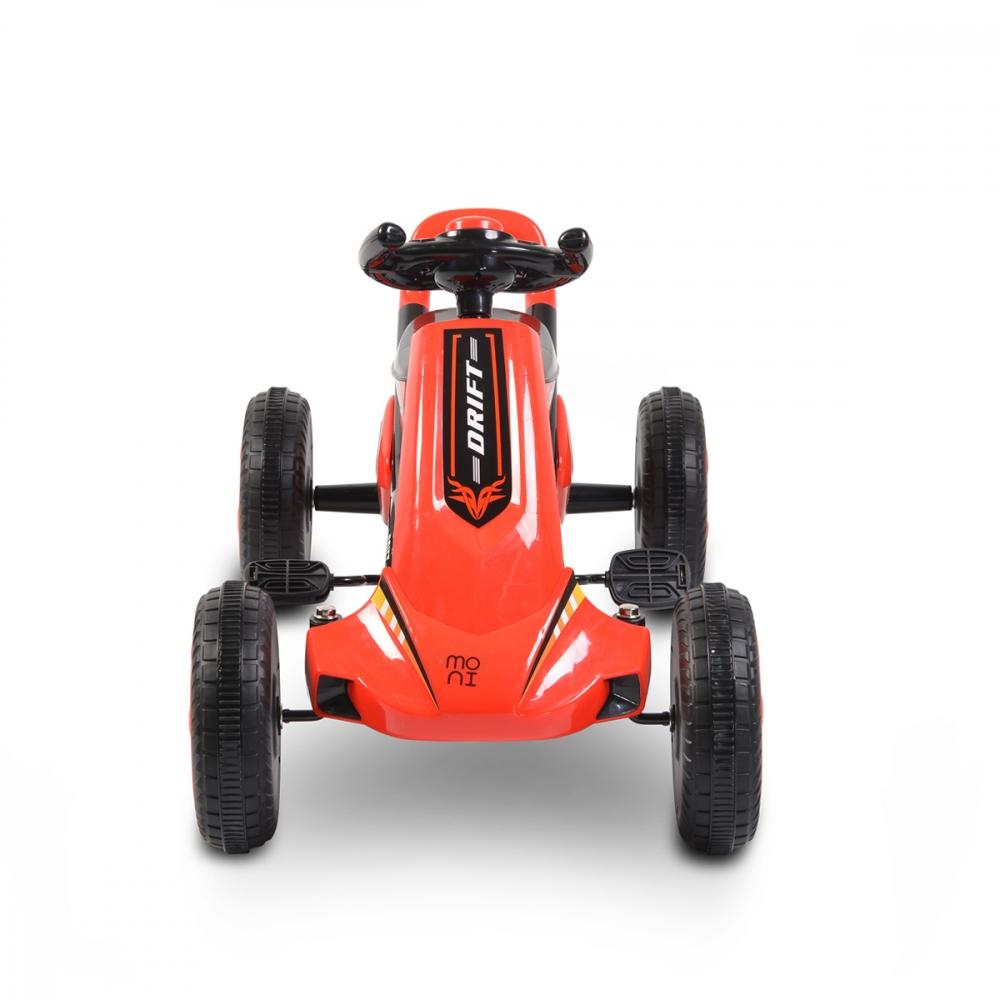 Kart cu pedale Moni Drift Red