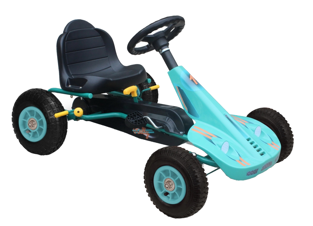 Kart cu pedale si roti gonflabile Dakota Blue imagine