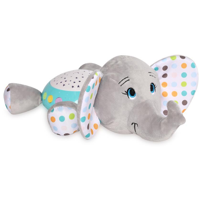 Lampa de veghe cu sunete si proiector Elephant