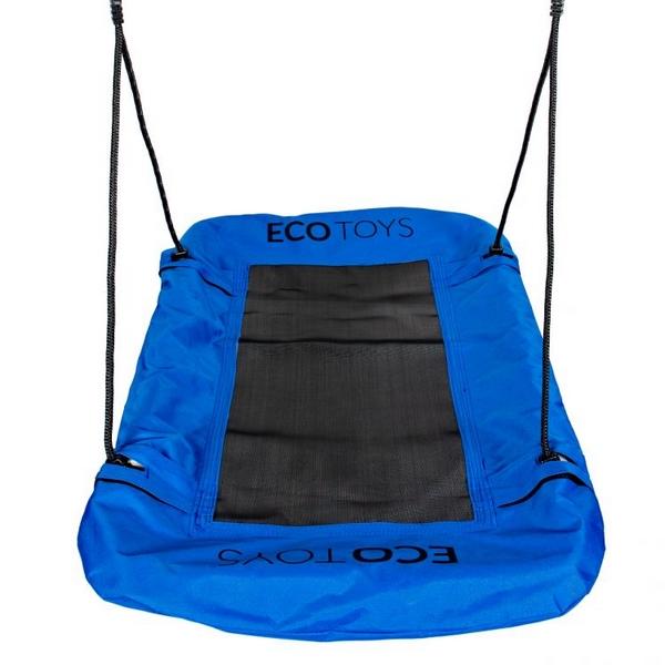 Leagan dreptunghiular Ecotoys BOC11070 albastru 110 cm