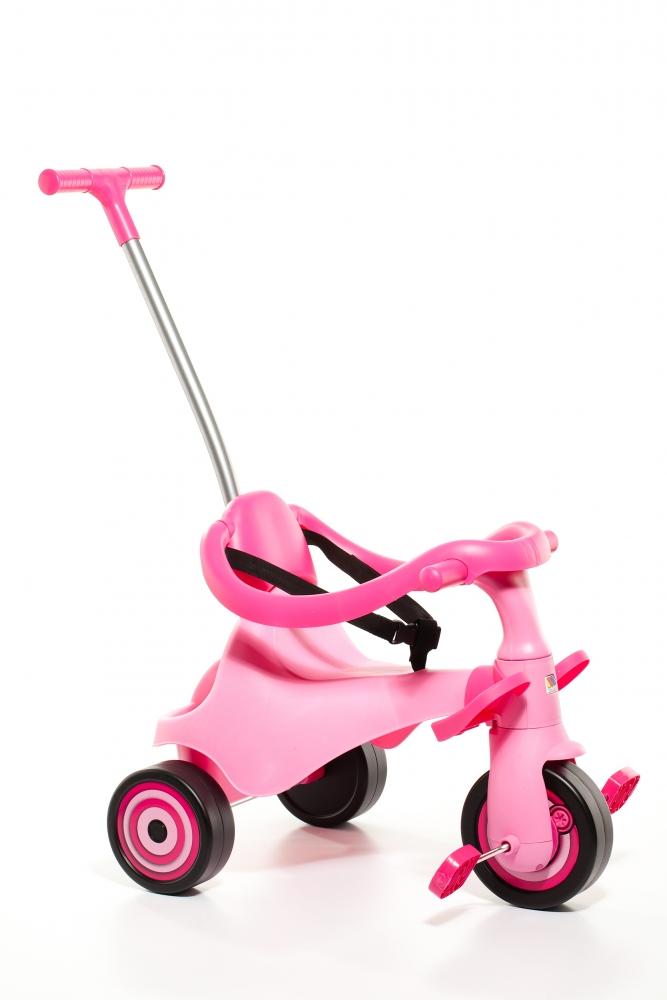 Tricicleta 3 in 1 roz Molto