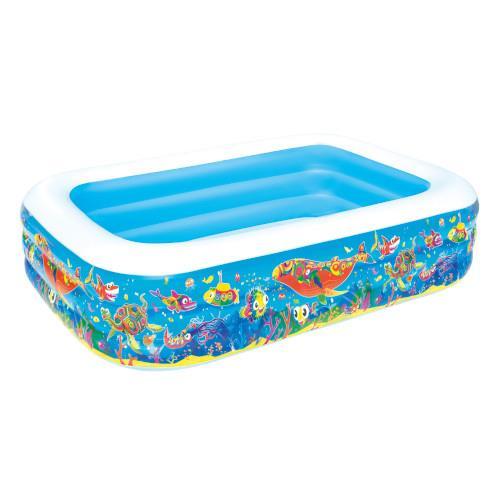 Piscina gonflabila cu 2 inele play pool sea