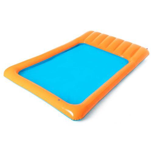 Piscina de joaca cu rampa de viteza si stropitoare 341 x 213 x 38 cm imagine
