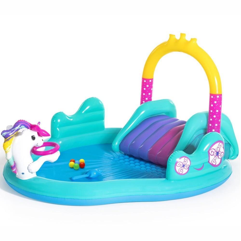 Piscina de joaca caleasca unicornului magic