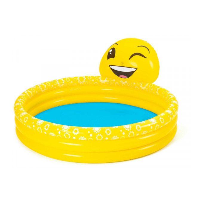 Piscina gonflabila cu 3 inele Happy Emoji imagine