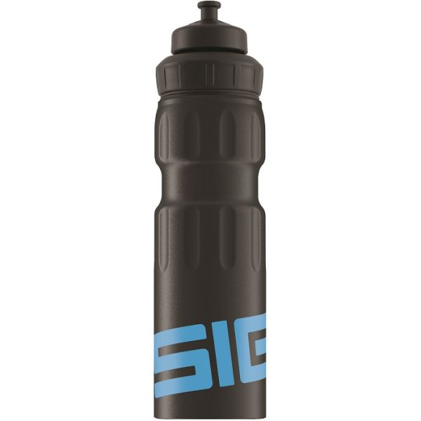 Bidon din aluminiu Sigg wmb sports black blue 0.75l imagine
