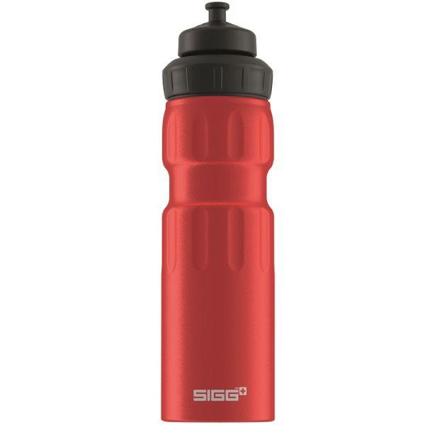 Bidon din aluminiu Sigg wmb sports red touch 0.75l
