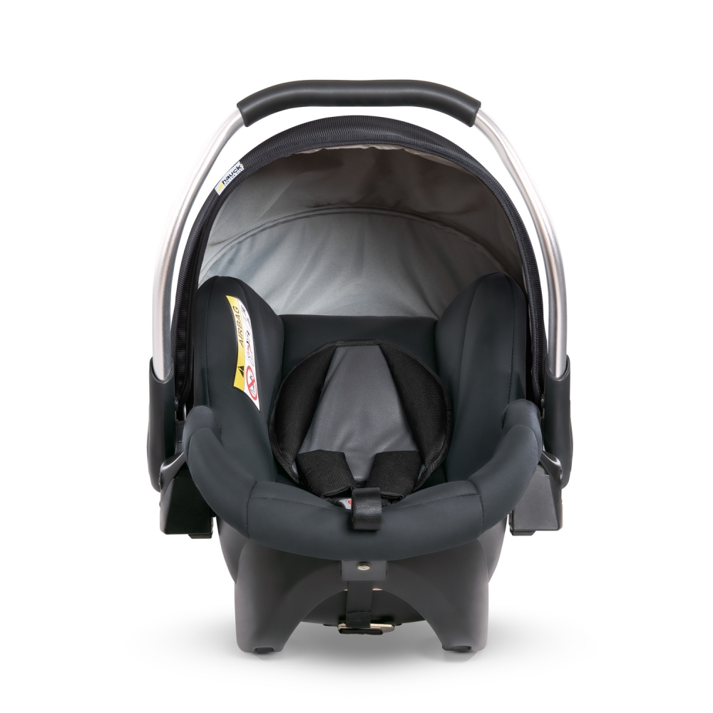 Scaun auto Comfort fix black grey imagine