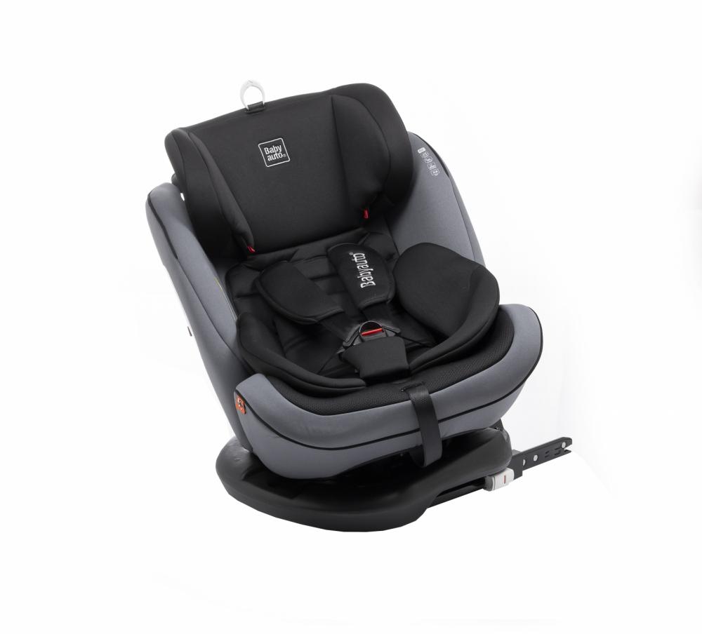 Scaun auto Babyauto Volta isofix rotatie 360 grade 0-36 kg gri