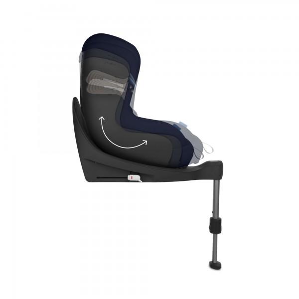 Scaun auto Cybex Sirona S I-Size cu rotire 360 de grade 0-18 kg river blue