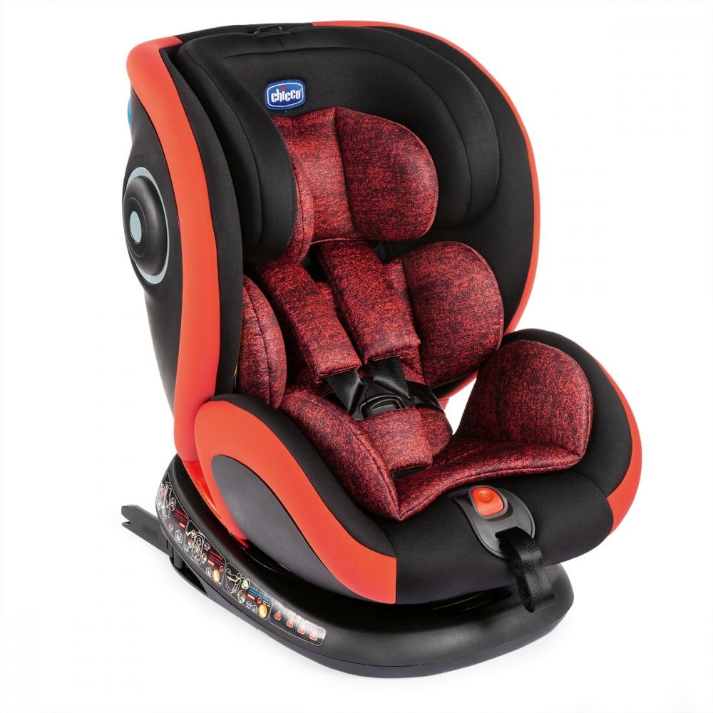 CHICCO Scaun auto isofix rotativ Chicco Seat4Fix PoppyRed 0+123 0-36 kg