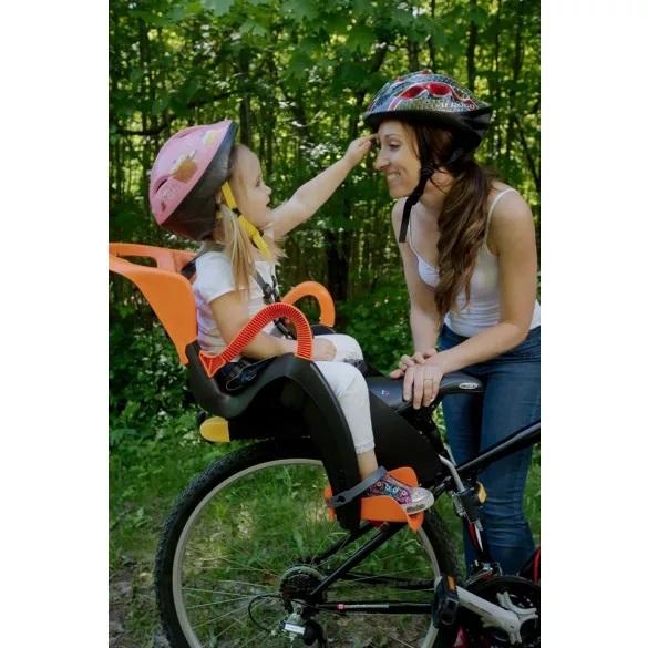Scaun bicicleta pentru copii Bellelli Tiger Relax B-Fix white turquoise