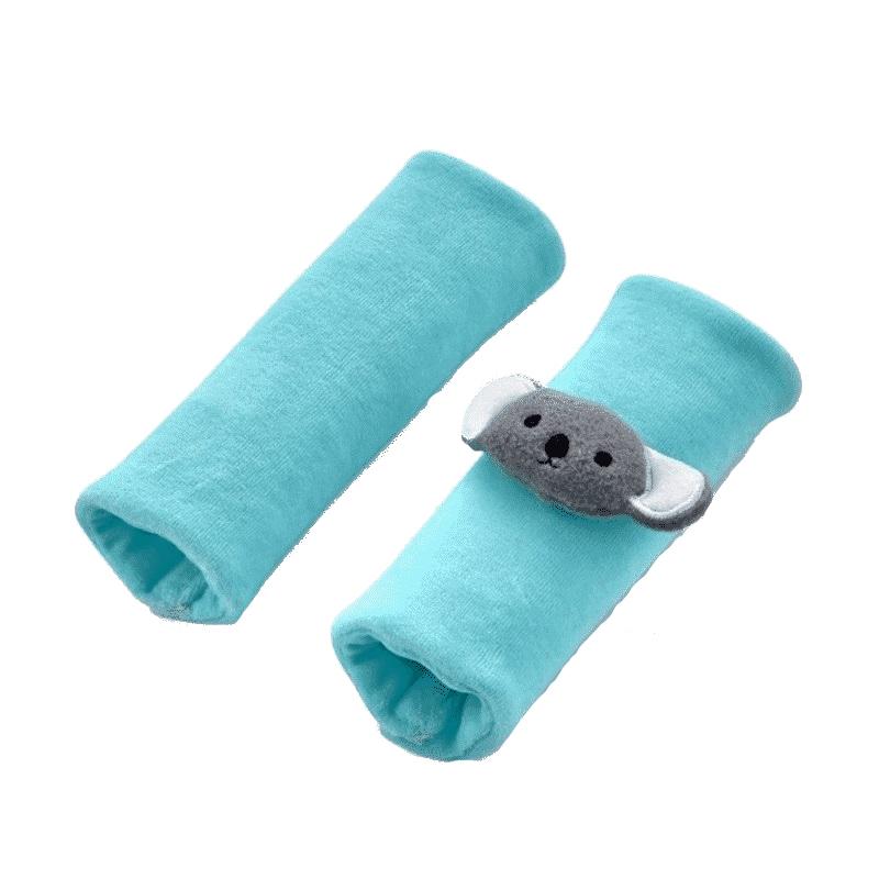 BabyJem Set 2 protectii pentru centura de siguranta Safety Belt BabyJem Mint