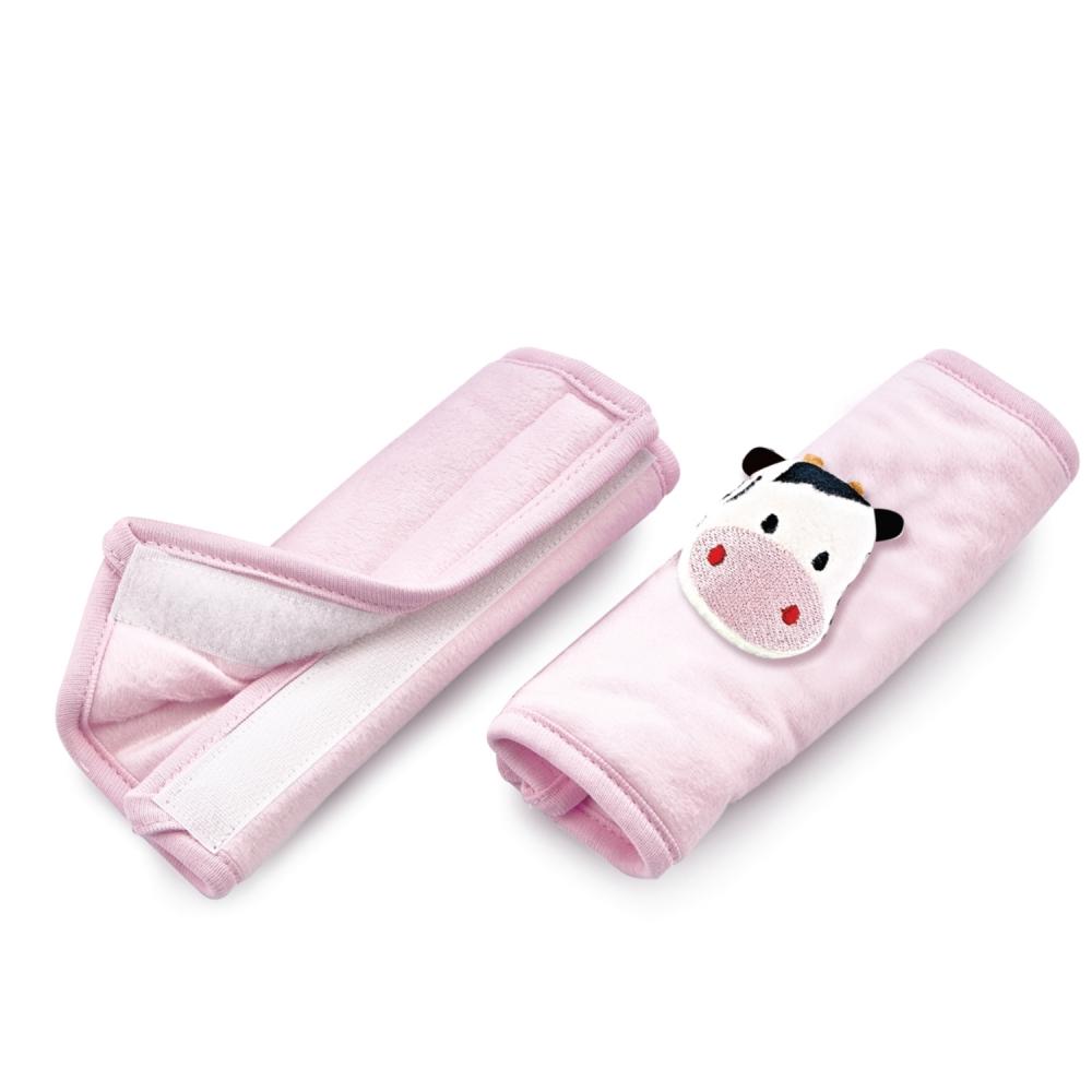 BabyJem Set 2 protectii pentru centura de siguranta Safety Belt BabyJem Pink