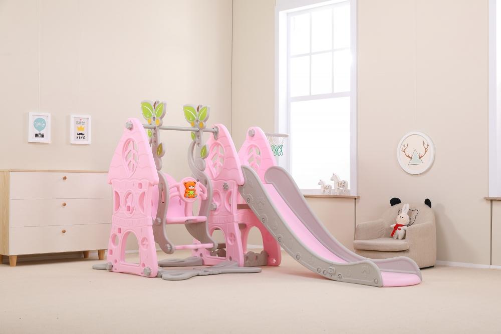 Spatiu de joaca 3 in 1 Nichiduta Garden Forest Pink