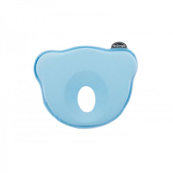 Pernuta pentru plagioencefalie bebelus BO Jungle bleu
