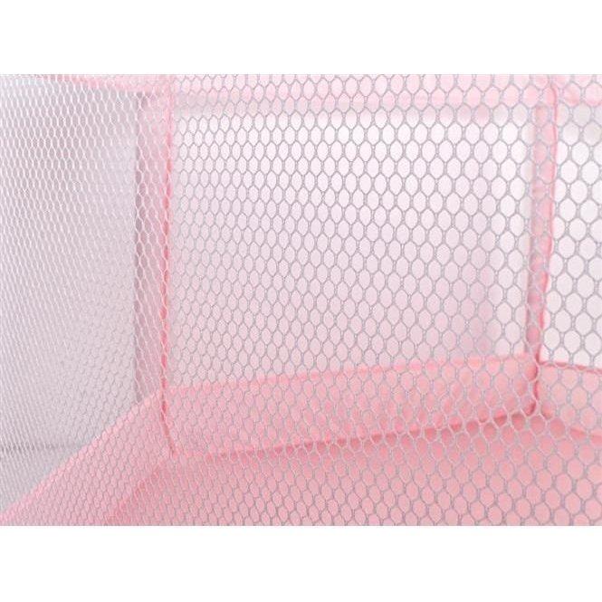 Tarc de joaca copii textil 125x65 cm Iso Trade roz imagine