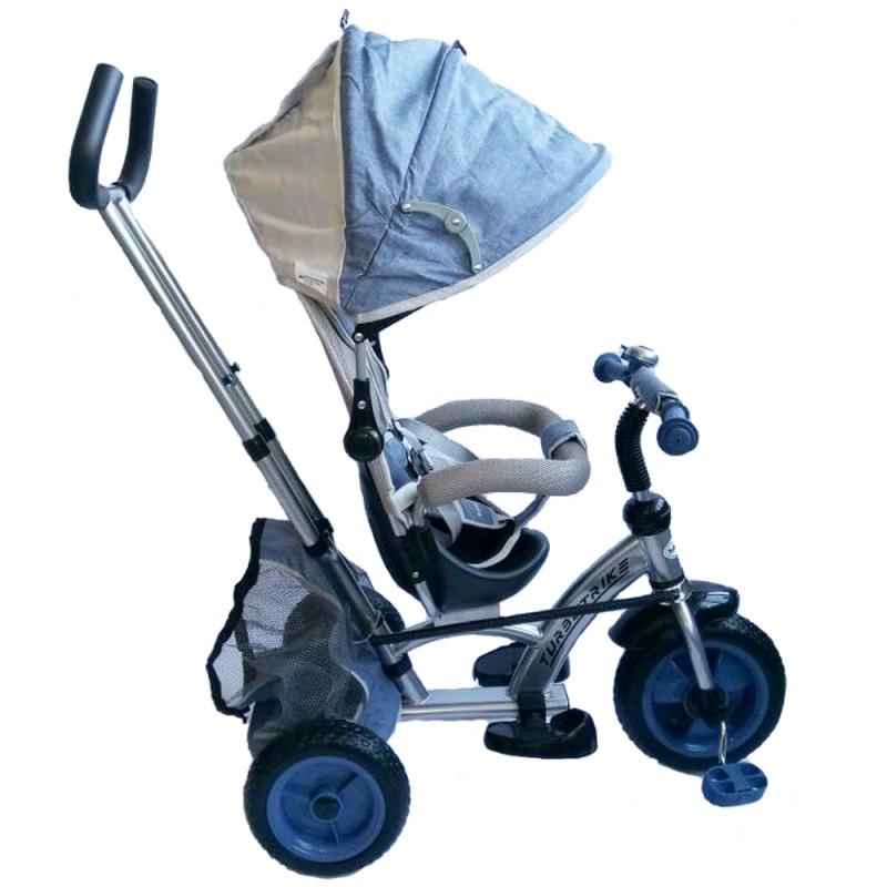 Tricicleta cu sezut reversibil Sunrise Turbo Trike Light Blue imagine