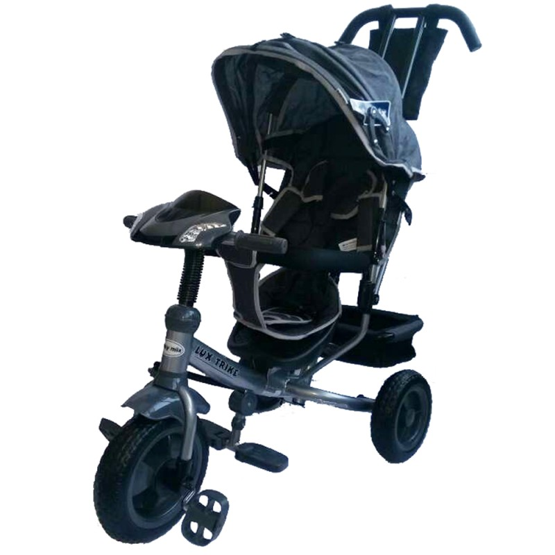 Tricicleta multifunctionala cu sunete si lumini Lux Trike dark blue imagine