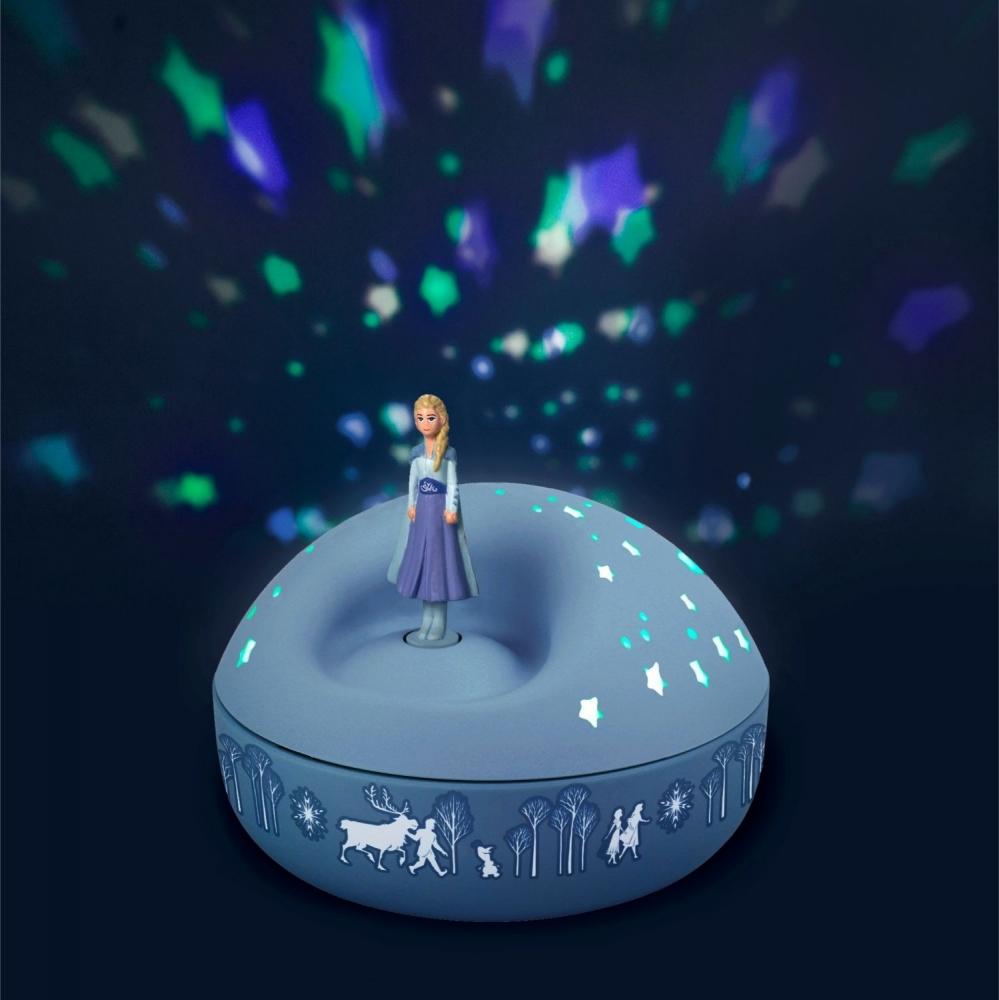 Veioza proiector stelute Elsa Frozen 2