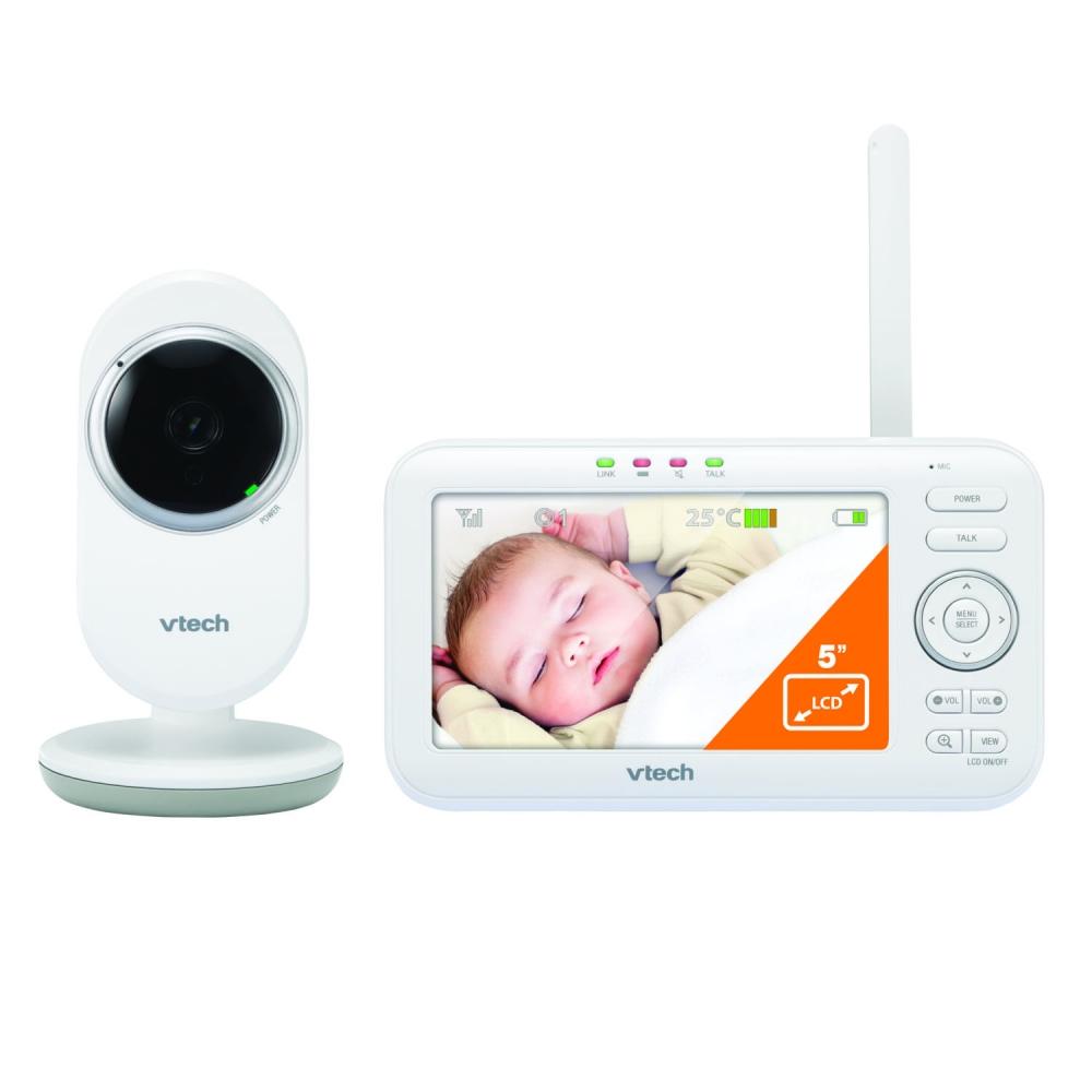 Video monitor pentru bebelusi cu ecran de 5 Vtech VM5252 imagine