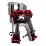 Scaun bicicleta pentru copii Bellelli Freccia B-Fix Silver