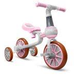 Bicicleta cu roti ajutatoare Ecotoys LC-V1311 roz