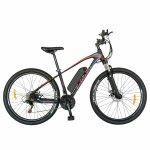 Bicicleta electrica Mtb Carpat 27.5 C1009 cadru aluminiu 21 viteze culoare negru/rosu