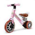 Bicicleta fara pedale Ecotoys LC-V1307 roz