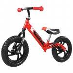 Bicicleta fara pedale pedagogica forever balance bike scaun reglabil rosu