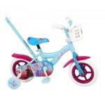 Bicicleta pentru fete 10 inch cu roti ajutatoare Volare Frozen 2 91050