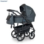 Carucior 3 in 1 Combo Max Dark Grey