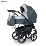 Carucior 3 in 1 Combo Max Grey