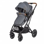 Carucior 3 in 1 ultracompact Coccolle Ravello Urban Grey