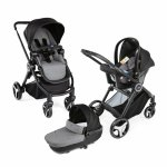 Carucior copii 3 in 1 Chicco Best Friend+ Comfort Stone 0luni+