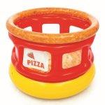 Centru de joaca gonflabil tip tarc cu imprimeu Pizza 155 x 109 cm