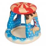 Centru de joaca gonflabil cu parasolar Candyland