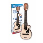 Chitara Folk de lemn cu 6 corzi metalice 70 cm