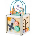 Cub educational din lemn Ecotoys 1030