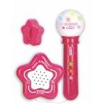 Difuzor cu microfon roz Bontempi