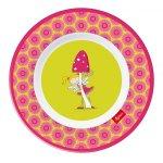 Farfurie melamina Florentine roz