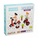 Set de constructii world speedy wheels Cubika