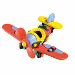 Jucarie de construit mic-o-mic 3D Avion 14.3 cm