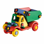 Jucarie de construit mic-o-mic 3D Basculanta 13 cm