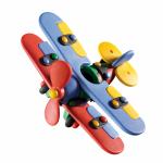 Jucarie de construit mic-o-mic 3D Biplanor 14.3 cm