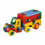 Jucarie de construit mic-o-mic 3D Camion 15.9 cm