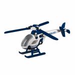 Jucarie de construit mic-o-mic 3D Elicopter polizei 21 cm