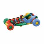 Jucarie de construit mic-o-mic 3D Masina de curse 11.7 cm