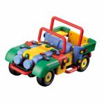 Jucarie de construit mic-o-mic 3D Masina off-road 20.1 cm