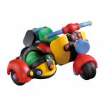 Jucarie de construit mic-o-mic 3D Motocicleta cu atas 12.7 cm